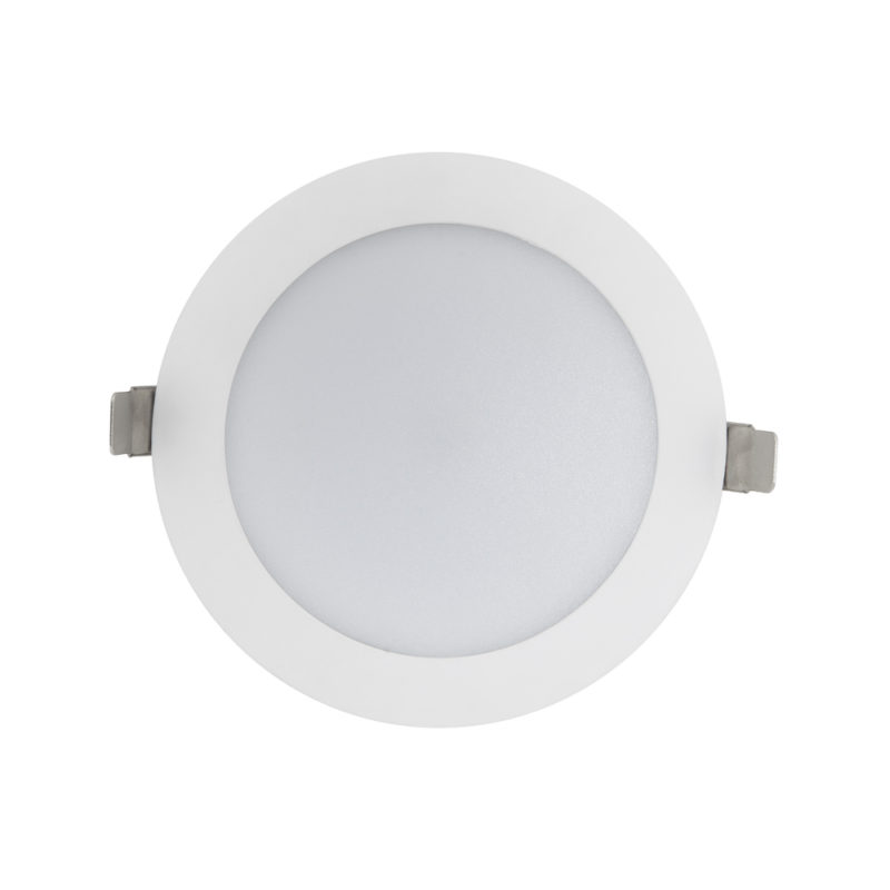 Verbatim LED Slimline Downlight 150mm Cut Out 16W Front