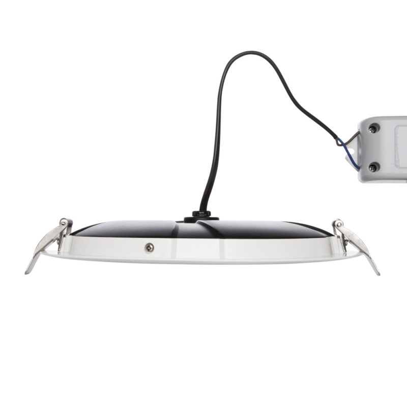 Verbatim LED Slimline Downlight 200mm Cut Out 25W Side View