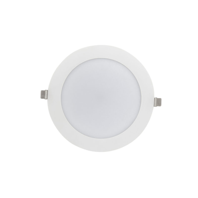 Verbatim LED Slimline Downlight 200mm Cut Out 25W Front