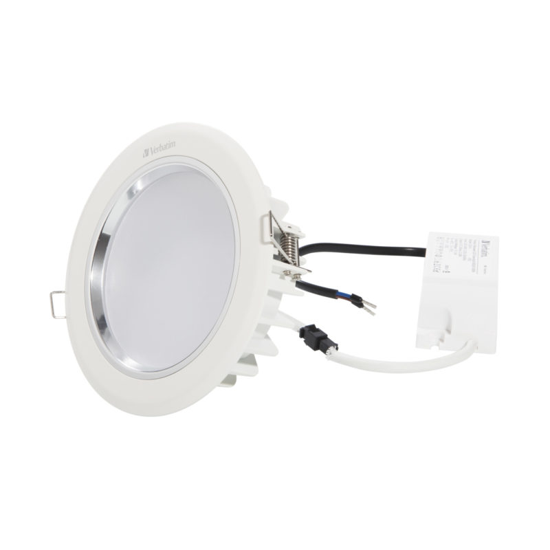 52445 52449 Verbatim LED Downlight 135mm with driver