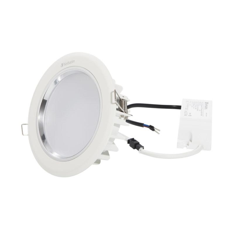 52445 52449 Verbatim LED Downlight 135mm with driver
