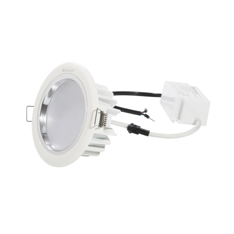 52448 Verbatim LED Downlight 104mm with Driver