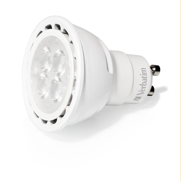 Verbatim LED PAR16 GU10 4W 52607 Angled