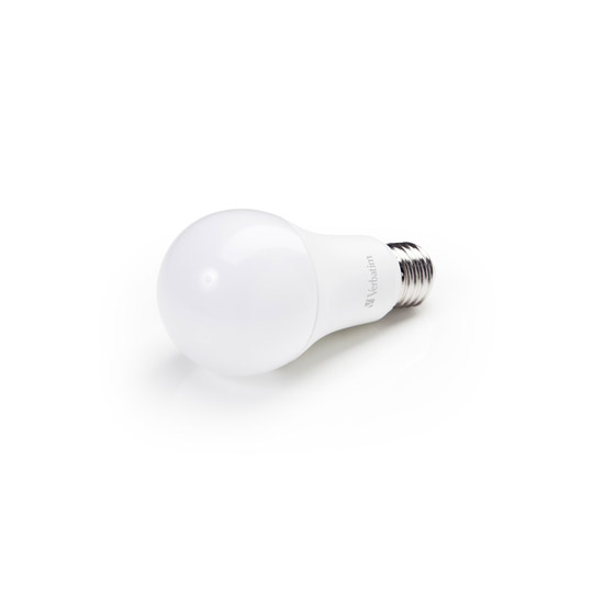 Verbatim LED Classic A Bulb Frosted E27 10.5W 2700K 52634 Side View