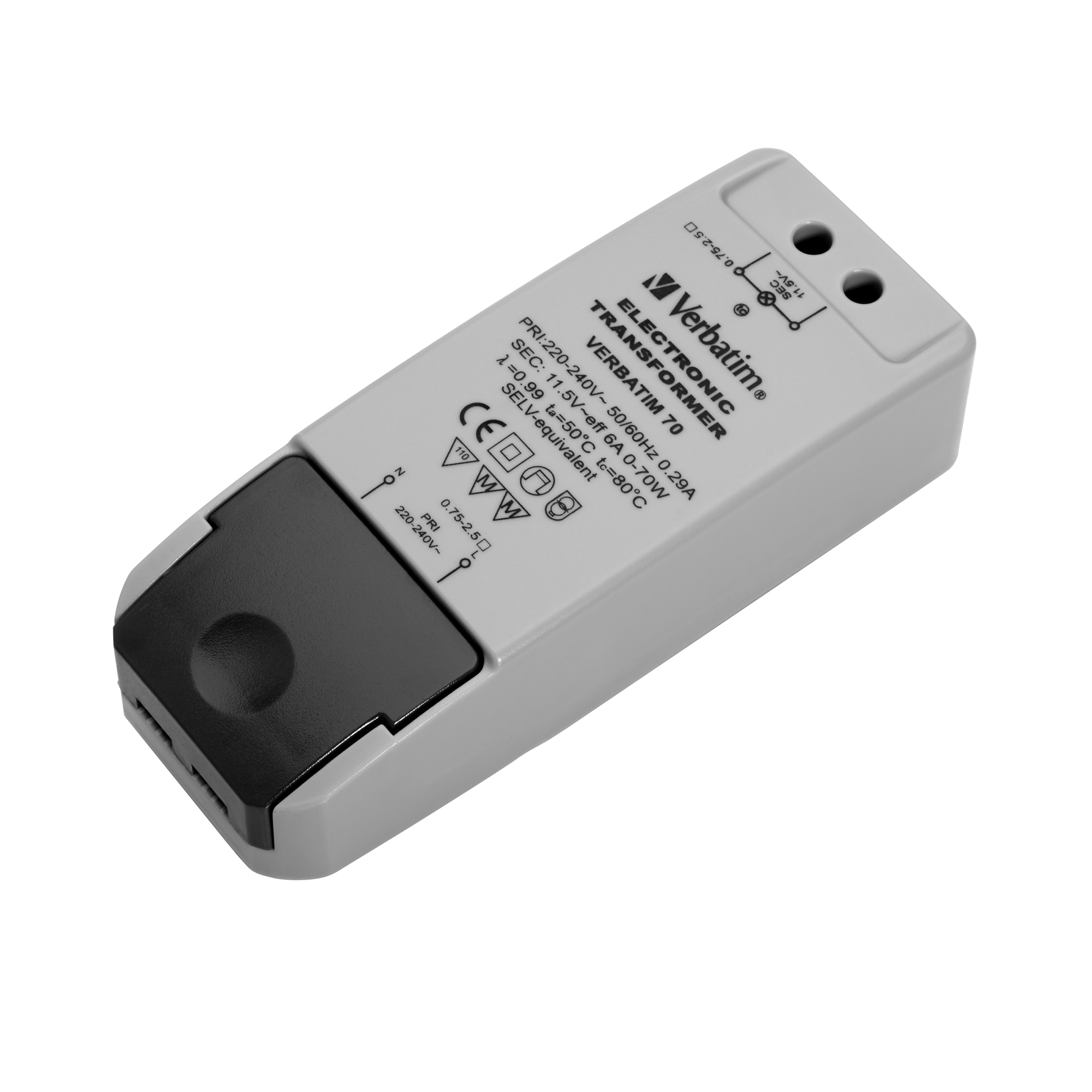 Led Mr16 Electronic Transformer Compatibility: Verbatim 12V LED Compatible Electronic Transformer