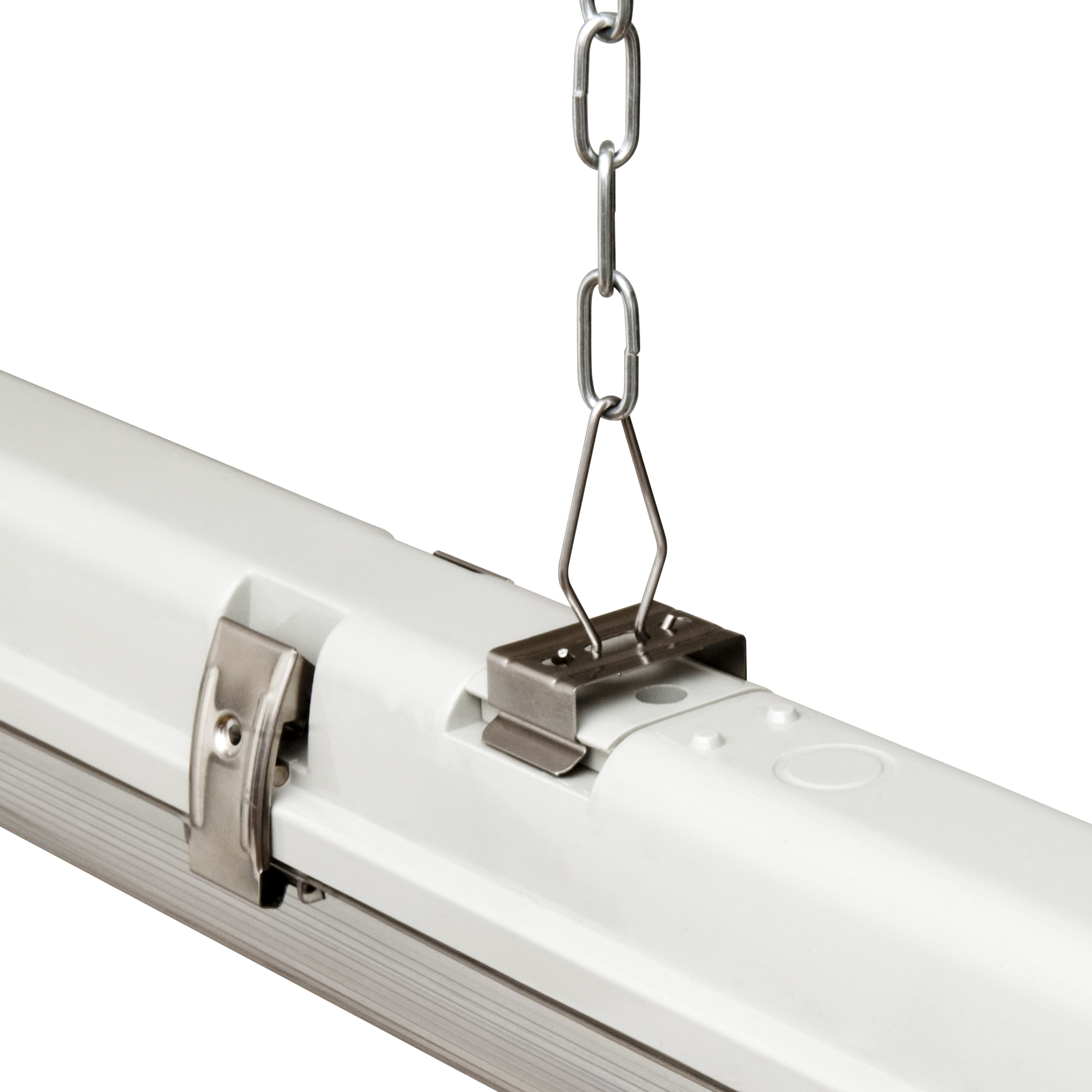Verbatim LED Chain Suspension Kit – For Batten Luminaires