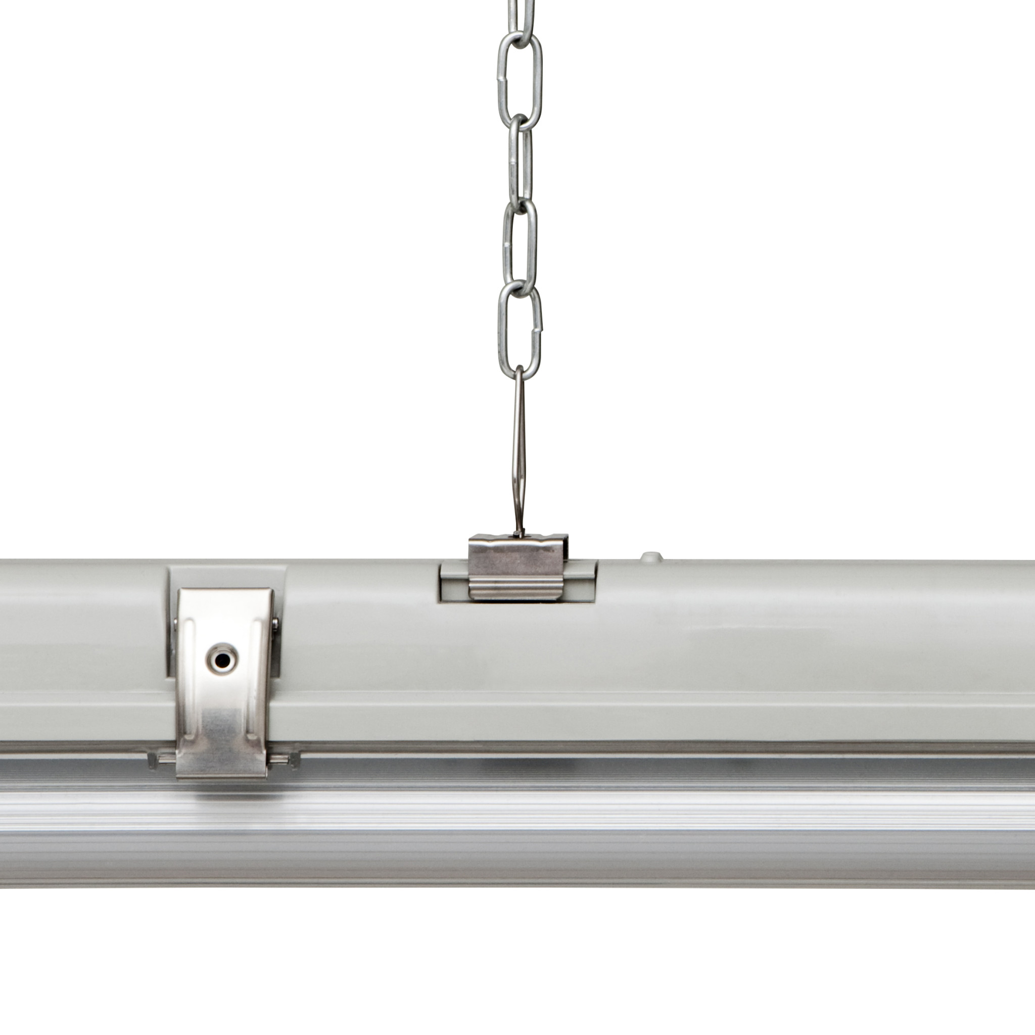 Verbatim led chain suspension kit for batten luminaires for Suspension luminaire filaire