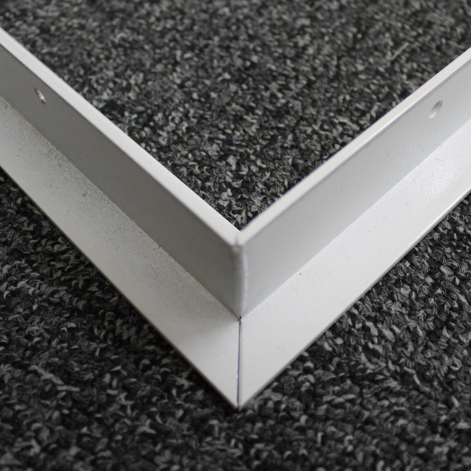 Bespoke Led Panel Surface Mounting Kit White 595x595mm