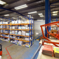 Menzies Distribution Warehousing T5 Luminaires