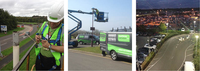 Car Park and Street Lighting Installation