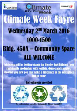 Climate Fayre Week poster