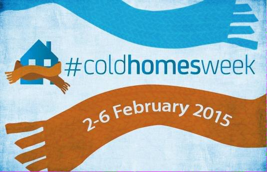 Cold Homes Week 2015 logo
