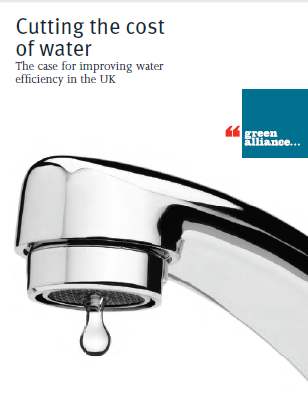 Cutting the cost of water report by the Green Alliance