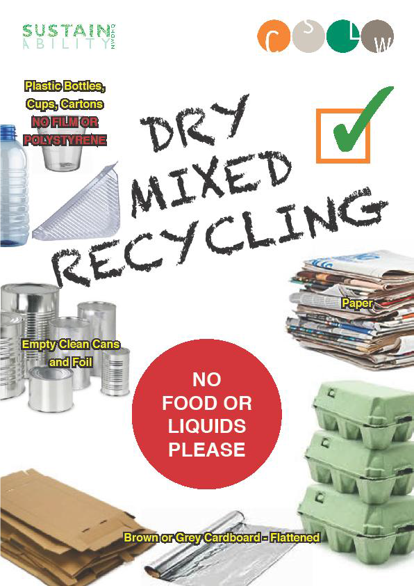 Dry mixed recycling image