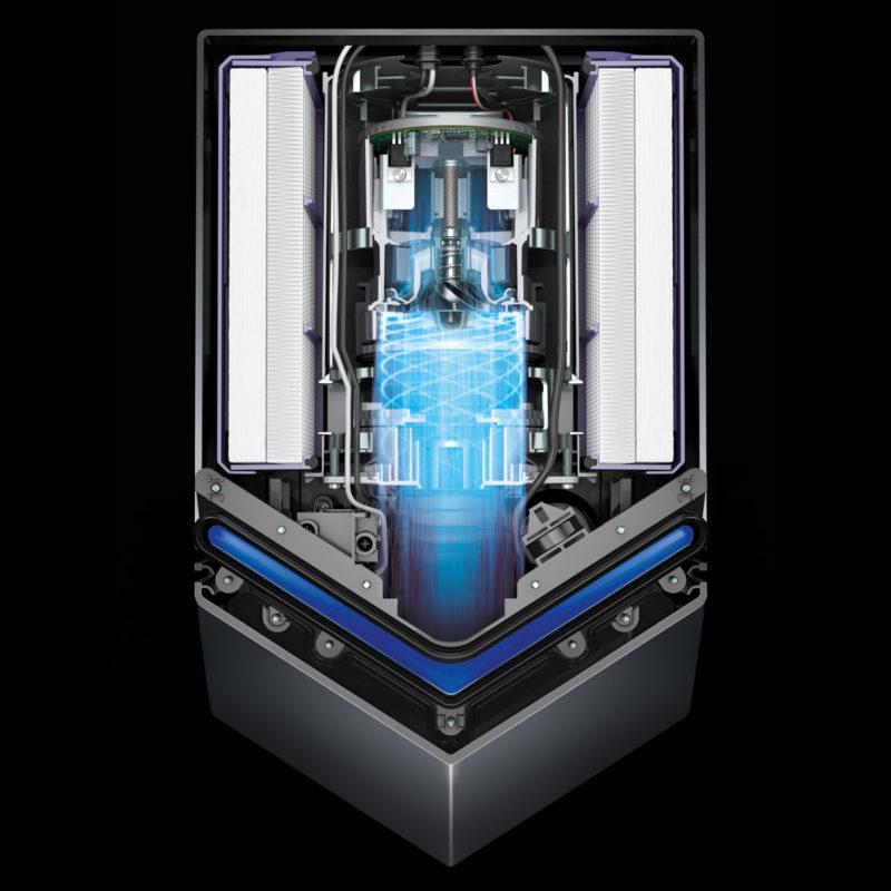 Dyson Airblade V Hand Dryer HU02 Inside