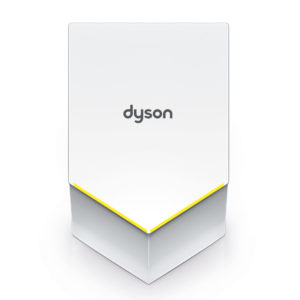 Dyson Airblade V White Hand Dryer HU02 Front