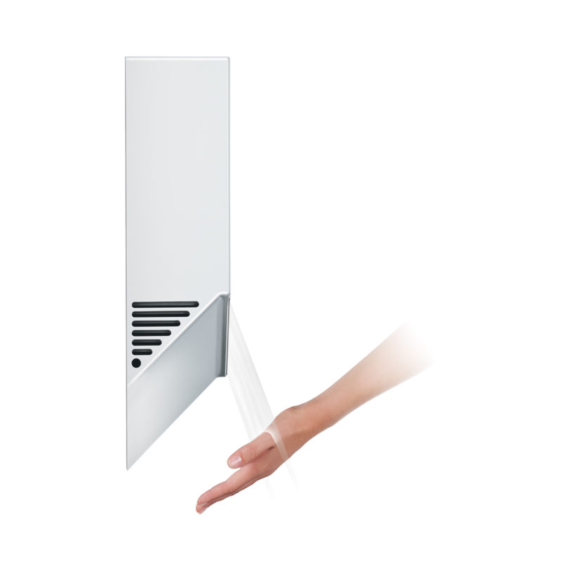 Dyson Airblade V White Hand Dryer HU02 Side