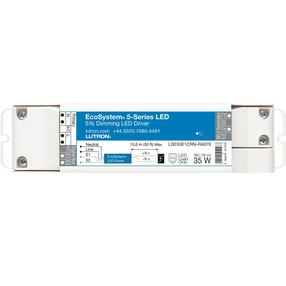 product category lutron lighting controls lutron ecosystem 5 series led driver