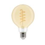 GE LED Filament Heliax Globe Bulb Gold G95 E27 - 93078645 - Main