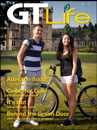 Front cover image of GT Life first issue August 2014