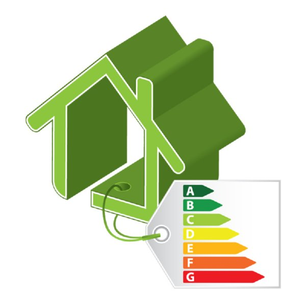 Image of green home with energy rating