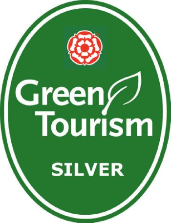 Image of Green Tourism Silver award - SaveMoneyCutCarbon