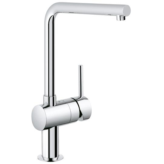 Grohe BauLoop Single Lever Swivel Spout 360 Kitchen Tap 31375000 Main