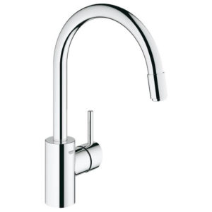 Grohe Concetto Single Lever Swivel Spout 360 Kitchen Tap 32663001 Main