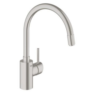 Grohe Concetto Single Lever Swivel Spout 360 Kitchen Tap 32663DC1 Main