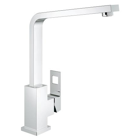 Grohe Eurocube Single Lever Swivel Spout 360 Kitchen Tap 31255000 Main