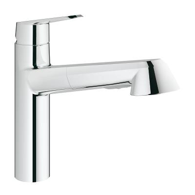Grohe Eurodisc Cosmopolitan With Pull Out Spray Single Lever Swivel