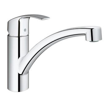 Grohe Eurosmart Single Lever Swivel Spout 140 Low Flow Kitchen Tap 3328120E Main