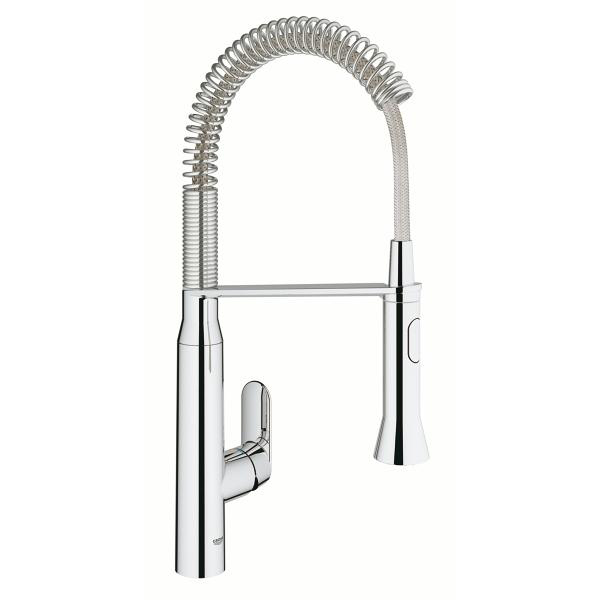 Grohe K7 Single Lever Swivel Spout 140 Kitchen Tap 31379000 Main