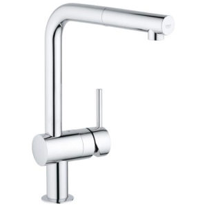 Grohe Minta Single Lever Swivel Spout 360 L Spout Kitchen Tap 32168000 Main