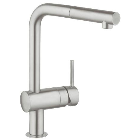 Grohe Minta Single Lever Swivel Spout 360 L Spout Kitchen Tap 32168DC0 Main