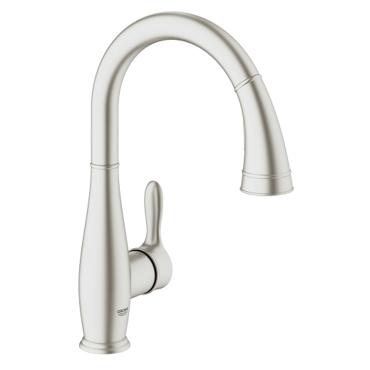 Grohe Parkfield Single Lever Swivel Spout 360 Kitchen Tap 30215DC0 Main