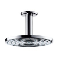 Hansgrohe 180 Raindance Air EcoSmart Rain Shower Head with Ceiling Connector
