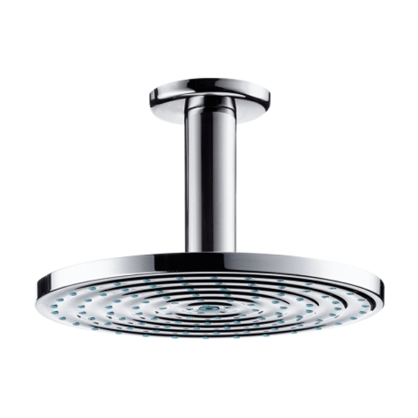 hansgrohe 180 raindance air ecosmart rain shower head ceiling connect. Black Bedroom Furniture Sets. Home Design Ideas
