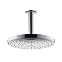 Hansgrohe 240mm Raindance Select S EcoSmart Rain Shower Head with Ceiling Connector Chrome
