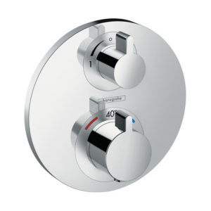 Hansgrohe Ecostat S Chrome Thermostatic Mixer for Concealed Installation