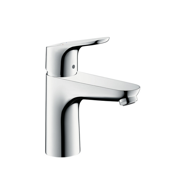 hansgrohe focus s single lever basin mixer 100 without waste. Black Bedroom Furniture Sets. Home Design Ideas