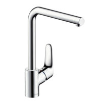 Hansgrohe Focus Single Mixer Swivel Spout Chrome Kitchen Mixer