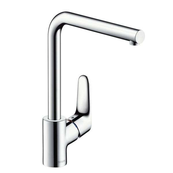 hansgrohe focus single mixer swivel 280 chrome kitchen mixer tap. Black Bedroom Furniture Sets. Home Design Ideas