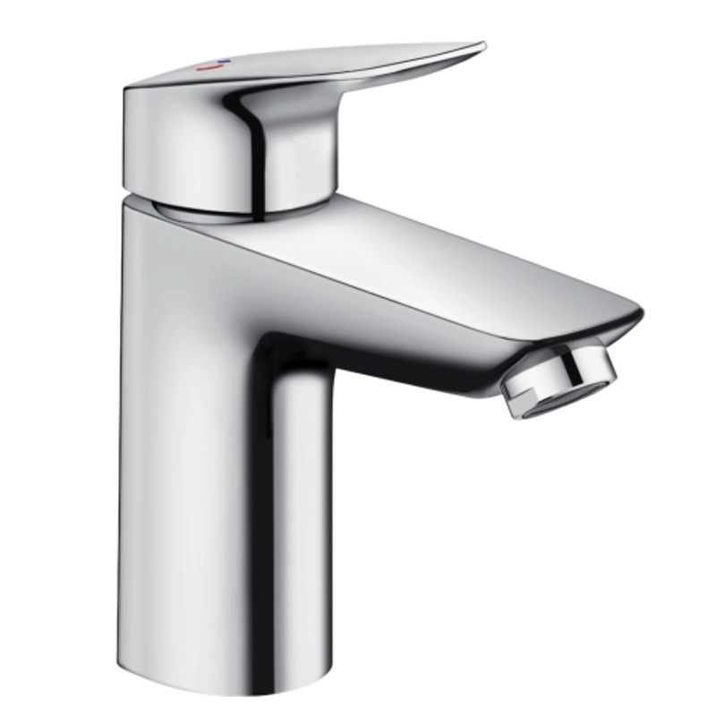 Hansgrohe Logis CoolStart Single Lever Basin Mixer 100 Without Waste