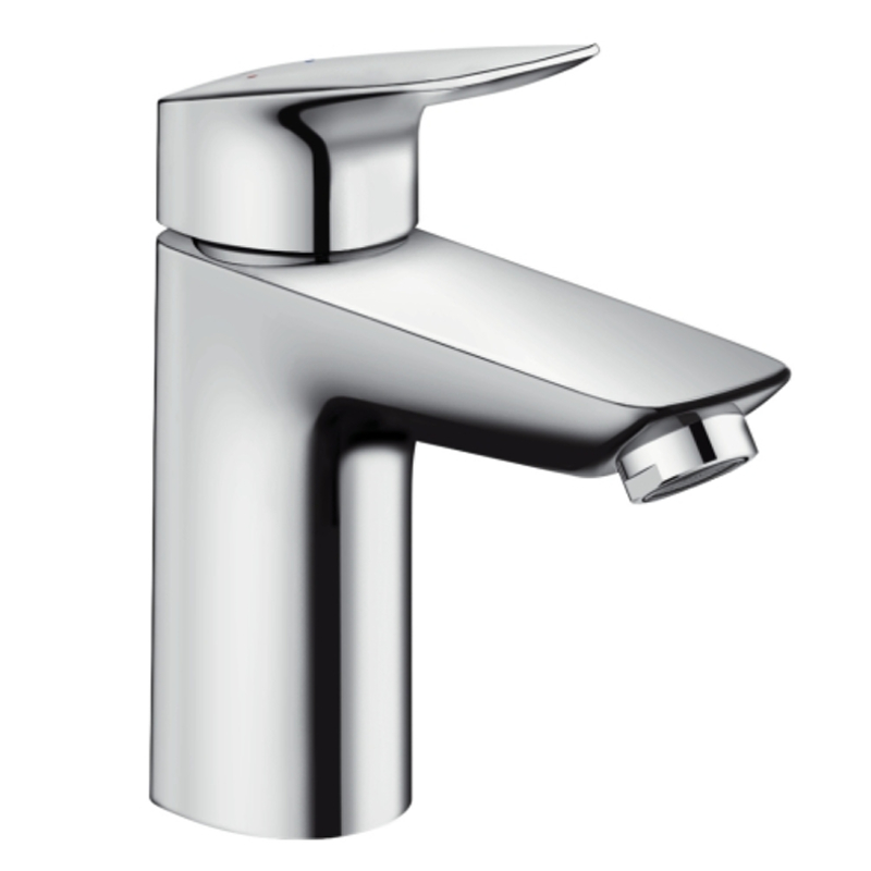 hansgrohe logis single lever basin mixer 100 without waste. Black Bedroom Furniture Sets. Home Design Ideas