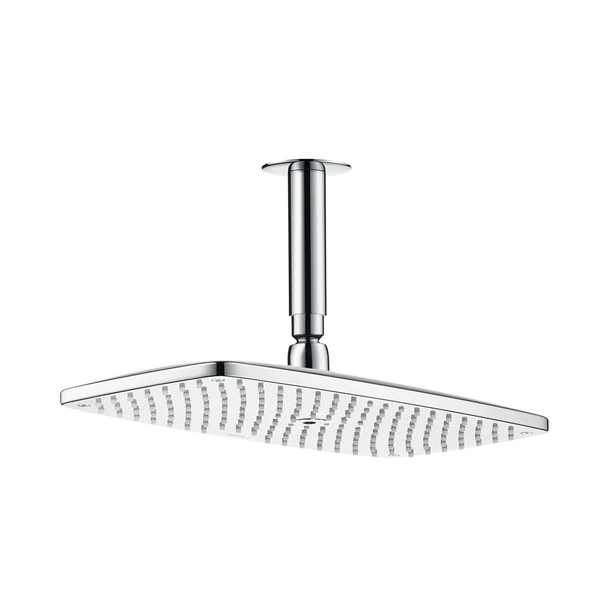 Hansgrohe Raindance E 360 Air 1jet EcoSmart Shower Head with Ceiling Connector Chrome Main