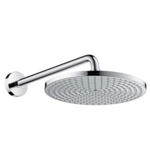Hansgrohe Raindance S 300 Air 1jet EcoSmart Shower Head with Shower Arm Chrome Main
