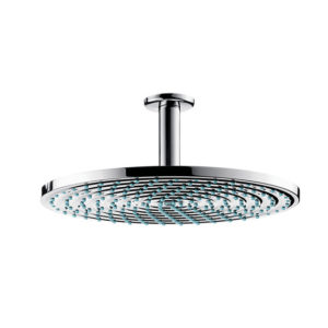Hansgrohe Raindance S 300 Air 1jet EcoSmart shower Head with Ceiling Connector Chrome Main