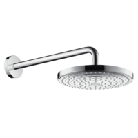 Hansgrohe Raindance Select S 240mm EcoSmart Rain Shower Head with 390mm Shower Arm Chrome