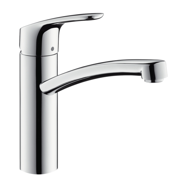 hansgrohe focus single lever swivel 160 chrome kitchen mixer tap. Black Bedroom Furniture Sets. Home Design Ideas